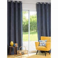 vorhang blau 214 senvorhang blau 140x250 1 vorhang steves maisons du