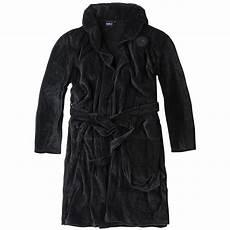 peignoir grande taille peignoir cyril noir grande taille homme allsize coton