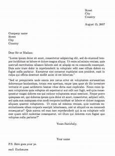 resume paragraph format exle 6 formal letter formats business letter letter exle lettering