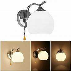 modern style pull wire switch scones led wall light cord switch bedroom wall l bedside l