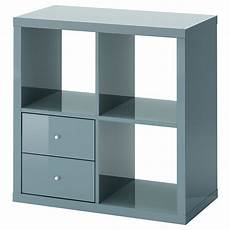 rangement cube ikea kallax shelving unit with drawers high gloss grey