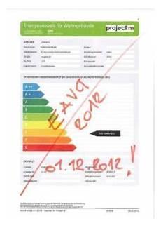 Das Energieausweis Vorlage Gesetz 2012 Eavg 2012 Die