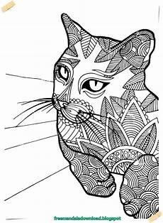 Ausmalbilder Katzen Mandala Katzen Mandala Kostenlos Ebook Cats Mandala Free Ebook