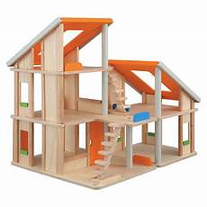 plan toy chalet doll house with furniture plan toys chalet dollhouse casa de mu 241 ecas de madera