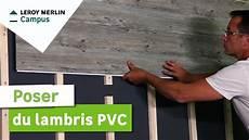 Lames Pvc Murales Comment Poser Du Lambris Pvc Leroy Merlin