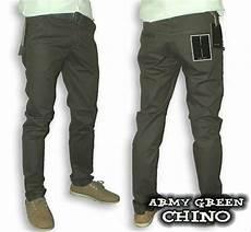 jual celana chino pria warna army green hijau army di lapak erwin nugraha ercub