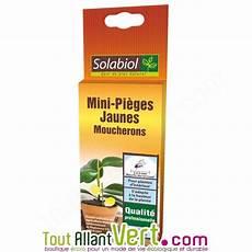 Solabiol Mini Pi 232 Ge Jaune Moucherons Pour Plantes D