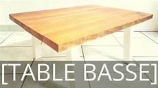 Comment Fabriquer Une Table Basse Avec Du Bois De