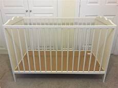 ikea cot bed hensvik cot white 60x120 cm in