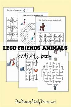 lego friends animals activity book of mazes activities maze and lego