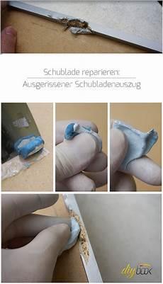 Schublade Reparieren Ausgerissene Spanplatte Diybook At