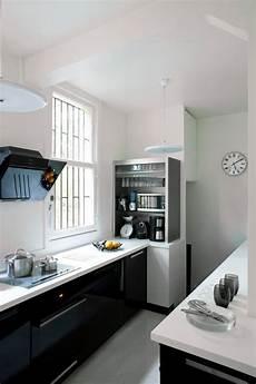 cuisine noir et blanc cuisine des photos d 233 co pour s inspirer c 244 t 233 maison