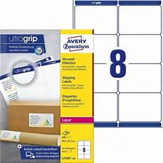 shipping labels with quickpeel ultragrip l7165 100 avery
