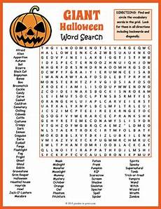 halloween word search puzzle by puzzles to print tpt