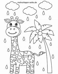 malvorlagen giraffe pdf kinder zeichnen und ausmalen