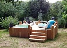 micro piscine bois mini piscine bois