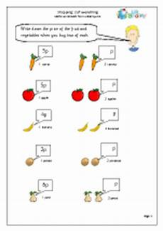 money worksheets year 6 2399 shopping 2 of everything money maths worksheets for year 1 age 5 6