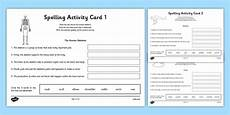 australia year 3 spelling mistake activity cards