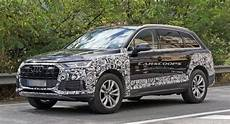 audi q7 facelift audi prepping facelift 2020 q7 with new grille and
