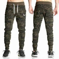me s casual sport slim fit army camouflage trousers