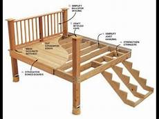 Deck Building P1 How To Build A Frame For Multilevel