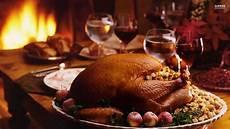 Thanksgiving Dinner Wallpaper