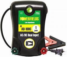 1 0 joule ac dc energizer powerfields high quality electric fence