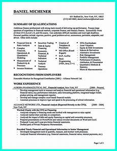 resume objective statement for analyst writing credit analyst resume is a must if you want to get