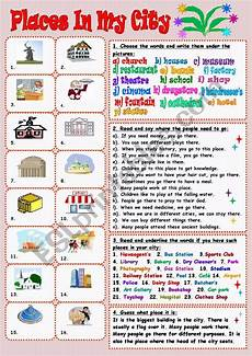 places in my city worksheets 15968 places in my city esl worksheet by tmk939