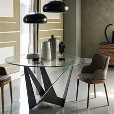 table 224 manger ronde design en verre boavista achat