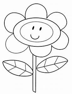 Malvorlagen Blumen Bunt Kostenlose Malvorlage Blumen Blume Mit Einem Lustigen