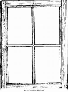 Malvorlagen Fenster Fenster 5 Gratis Malvorlage In Beliebt Diverse