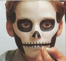 maquillatge esquelet maquillaje maquillaje