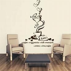 i wandtattoo wandtattoo kaffeeherz gourmetkaffee ii f 252 r deine k 252 che