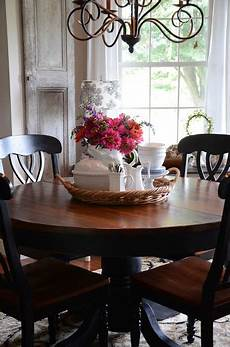 like the tray with flowers utensils napkins for center of kitchen table in 2019 dining room