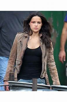 Letty Ortiz Leather Jacket Fast And Furious 7