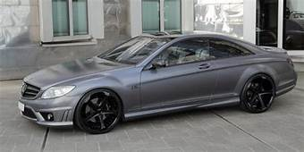 Mercedes Benz Cars News Anderson CL65 AMG Grey Stone