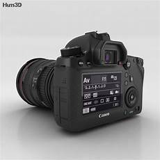 Canon Eos 6d 3d Model Electronics On Hum3d