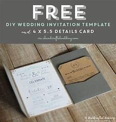 free printable wedding invitation template planning