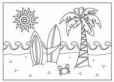 Malvorlagen Urlaub Strand Schule Kostenlos Druckbare Sommer Malvorlagen F 252 R Kinder In 2020