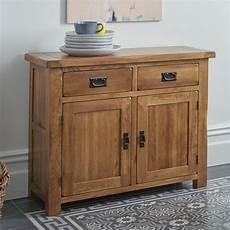 original rustic solid oak small sideboard oak furniture land