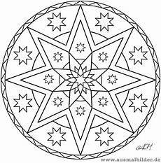 ausmalbilder mandala sterne ausmalbilder