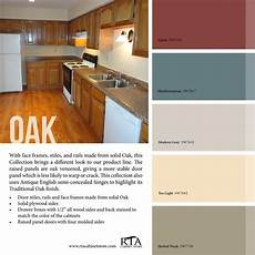 color palette to go with our oak kitchen cabinet line oak kitchen cabinets kitchen colors