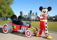 check out mickey mouse s new rod at the motor