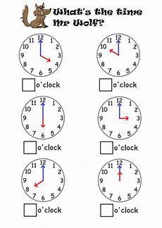 time worksheets and activities 2904 telling the time to o clock half past teaching resources