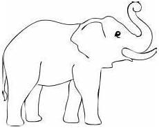 Malvorlagen Elefant Malen Elefant Ausmalbild Elefant Ausmalbild