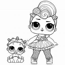 lol doll coloring pages touchdown free