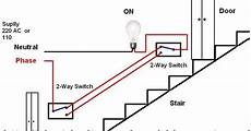 electrical technology stair case wiring wiring diagram or how to control a l from two
