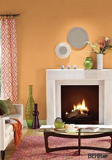 1000 images about orange rooms on pinterest neutral color scheme inspiration and behr