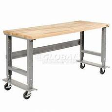 peters garage rathenow mobile 48 x 30 maple square edge mobile work bench adjustable